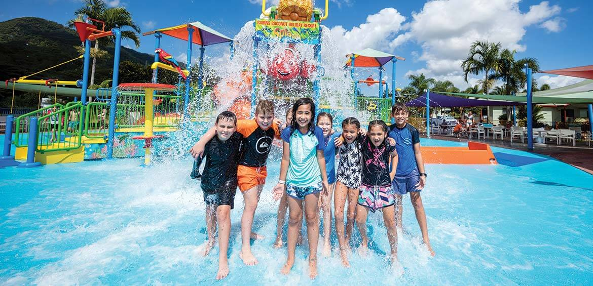 Water park at BIG4 Ingenia Holidays Cairns Coconut