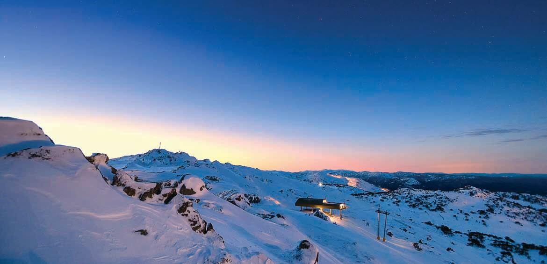 Perisher, ski & snowboard. snow