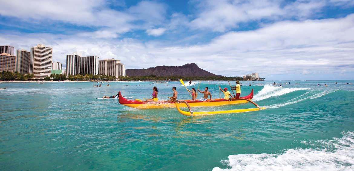 Voyaging on an outrigger