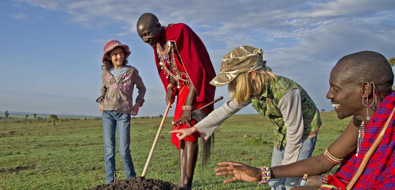 Africa, Safari, Children