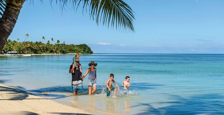 Family fun at Plantation Island Resort
