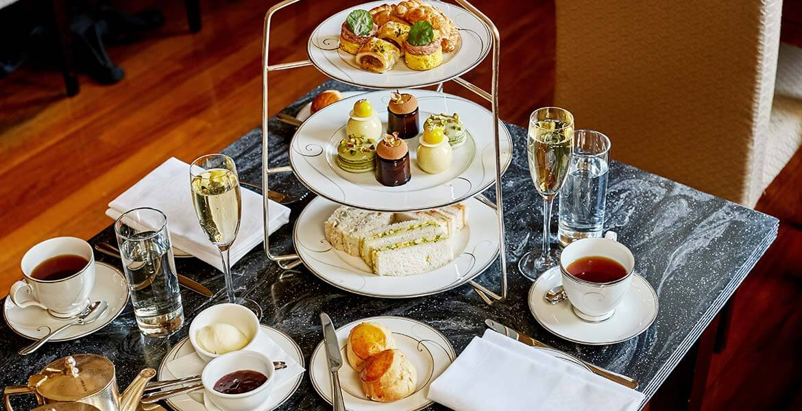High tea at The Hotel Windsor