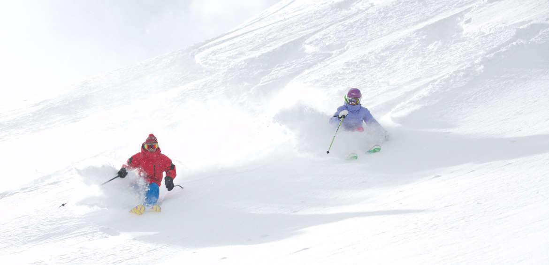 Mammoth Mountain, ski, fields, hectares