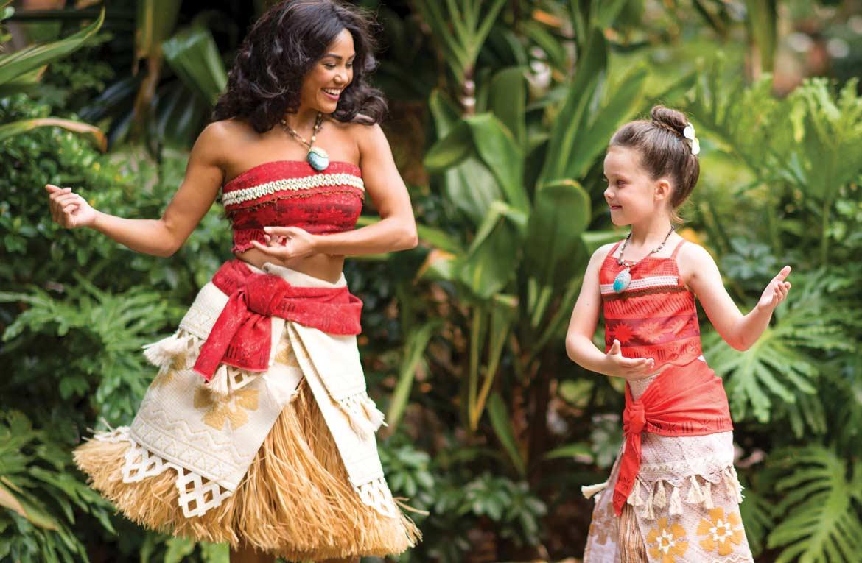 Meeting Moana at Aulani, A Disney Resort & Spa