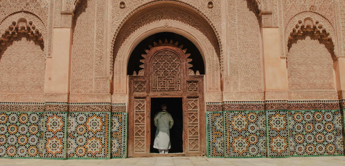 Morocco, architecture, colour