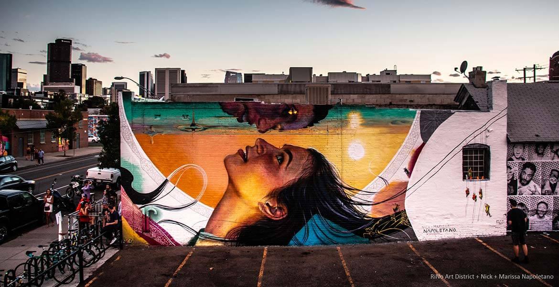 RiNo Street Art, Denver, Colorado
