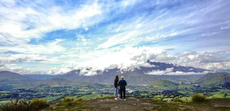Multigenerational girls trip, New Zealand