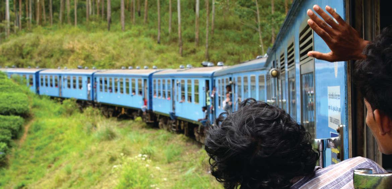 Sri Lanka, Blue Train, Family