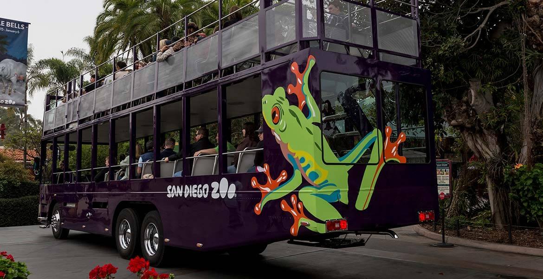 Bus tour at San Diego Zoo