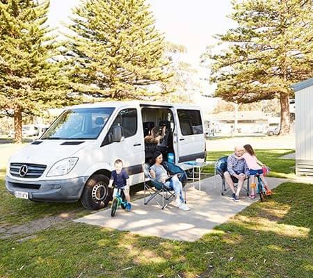 Caravan and camp sites