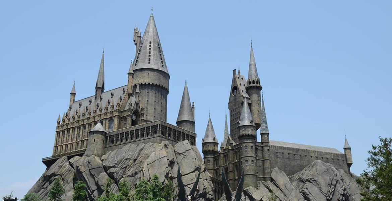 Castle at Universal Studios Japan