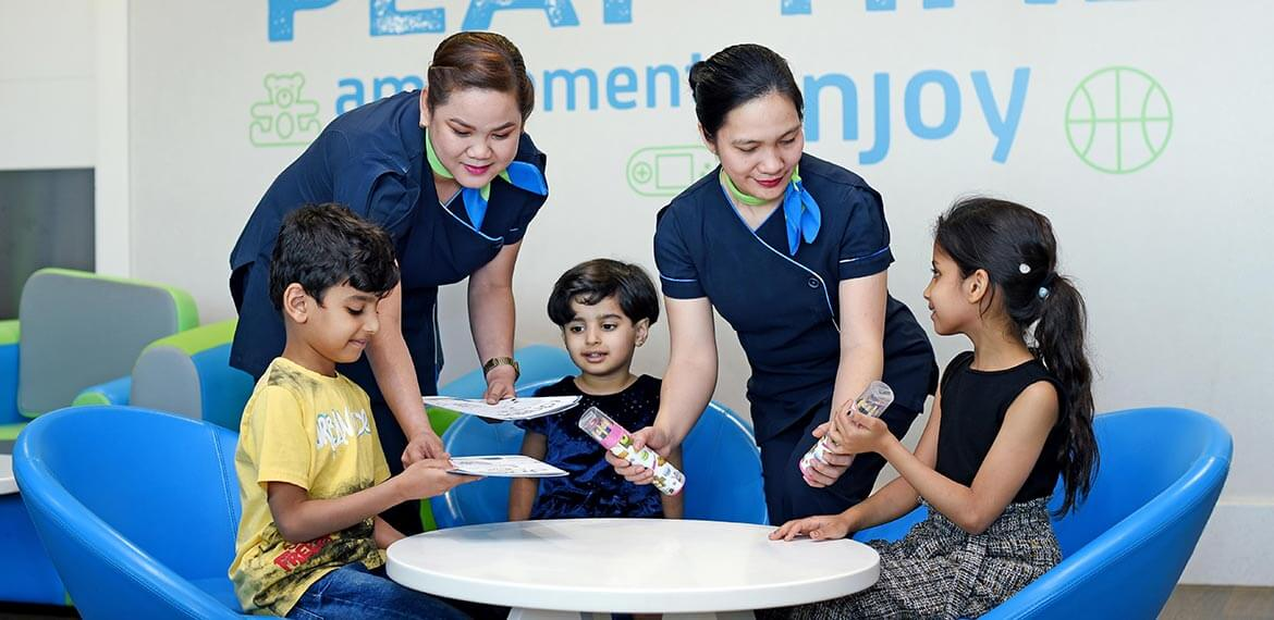 Dubai Airport's new lounge is manned by experienced, multilingual-staff