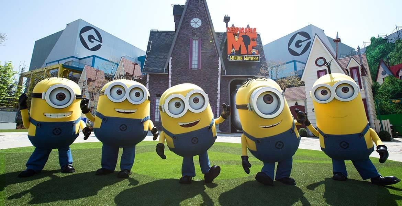 Minon mascots