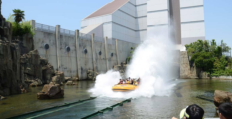 Ride at Universal Studios Japan