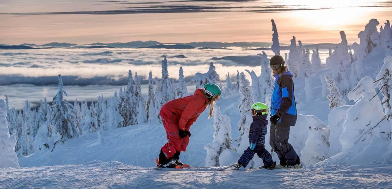 Ski lessons at Big White Ski Resort