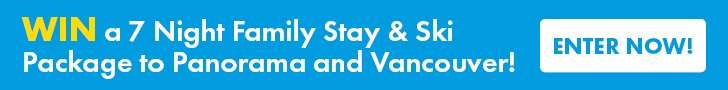 Sno n Ski Holidays Leaderboard Banner