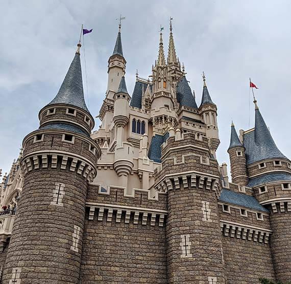 Tokyo DisneySea castle