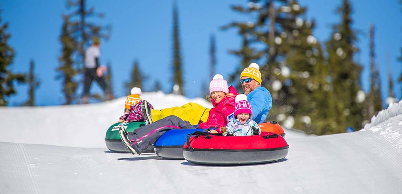 Tubing at Big White Ski Resort