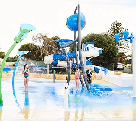 Waterpark at NRMA Victor Harbor Beachfront Holiday Park