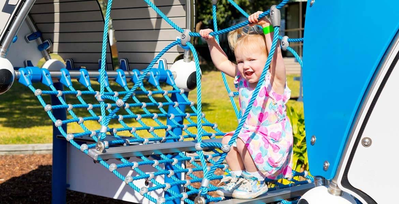 BIG4 Easts Beach Holiday Park playground