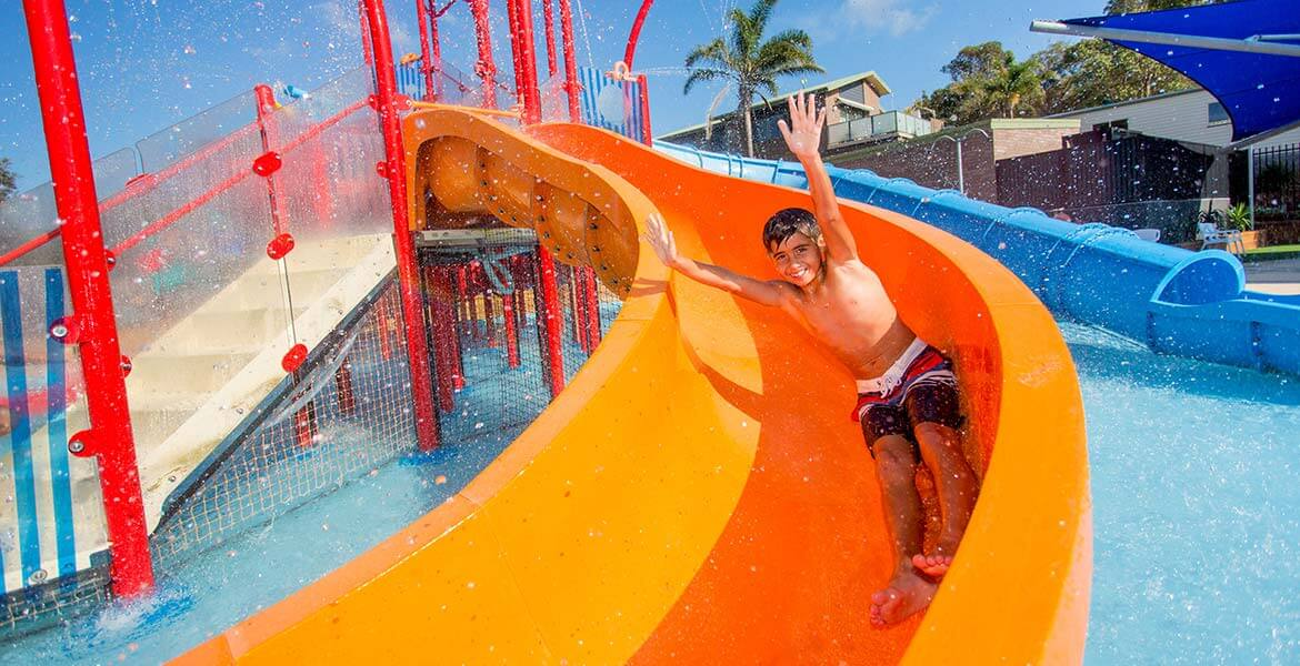 BIG4 Easts Beach Holiday Park water park