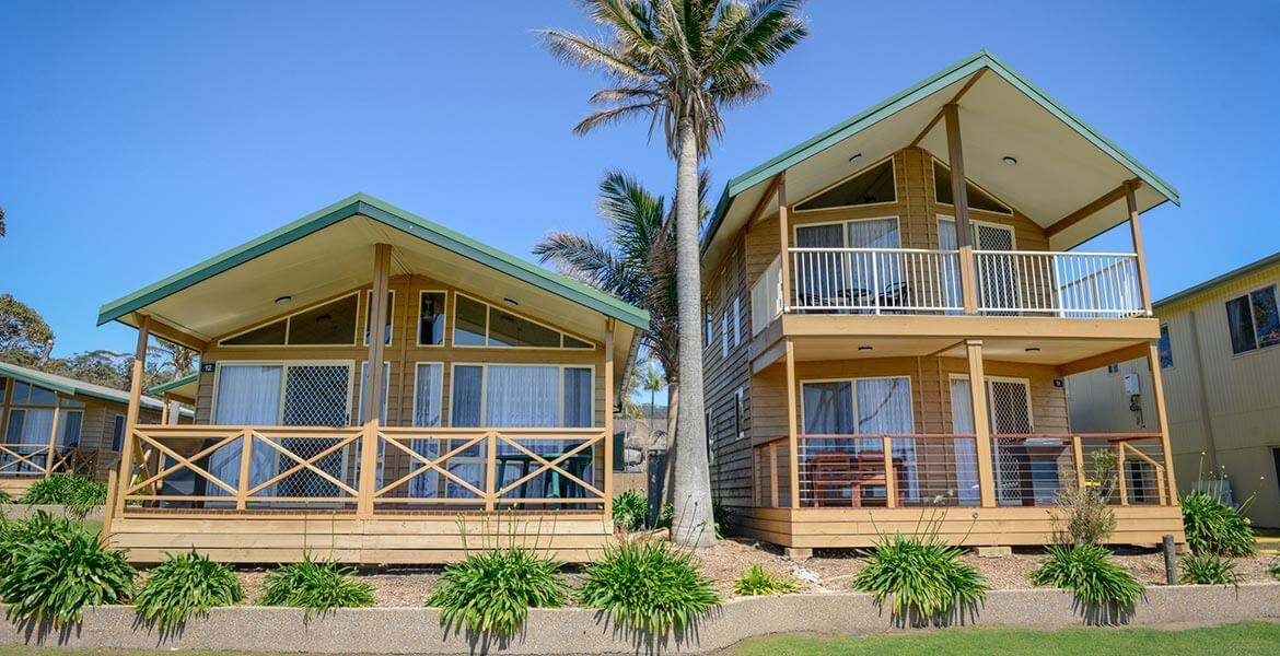 Cabins at Merry Beach Caravan Park