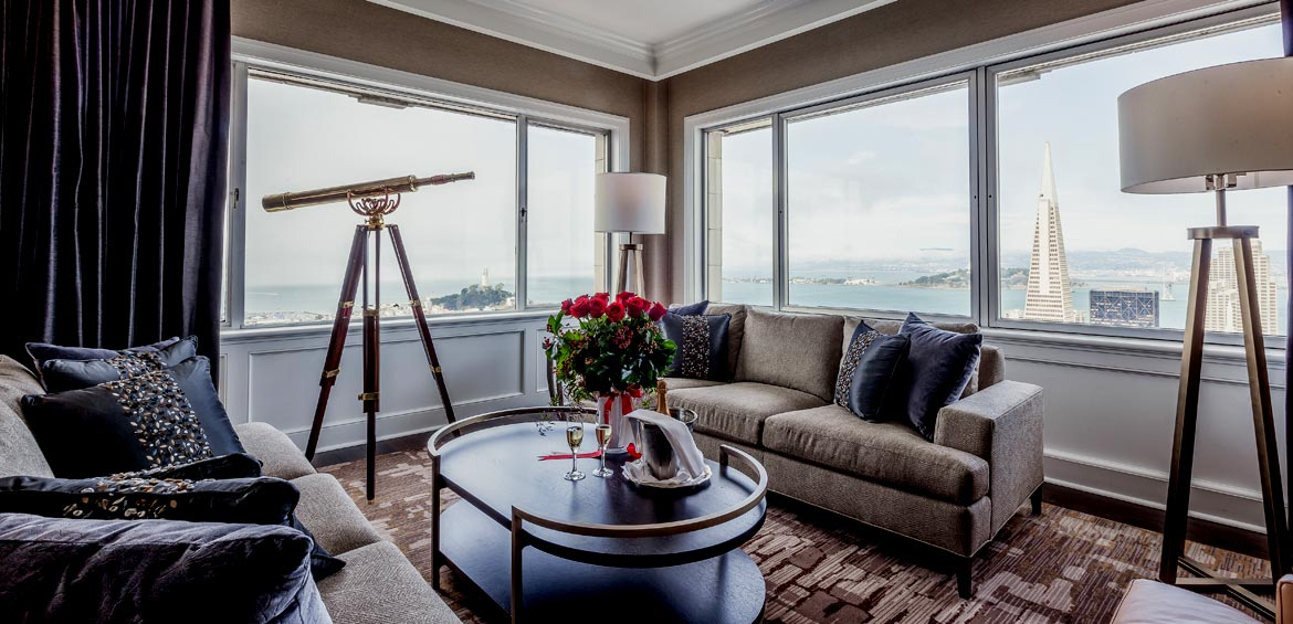 Penthouse Suite, Fairmont San Francisco