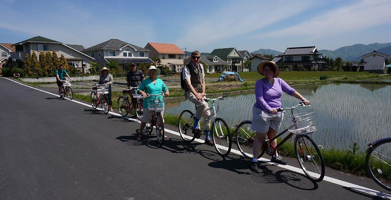 InsideJapan Tours bike journey