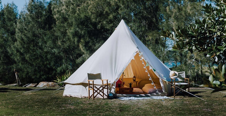 NRMA Ocean Beach Holiday Resort glamping