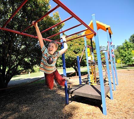 Playground at NRMA Bright Holiday Park