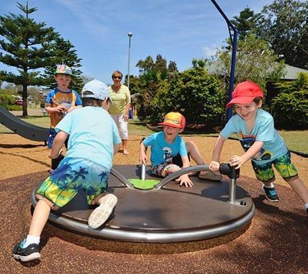 Playground at NRMA Sydney Lakeside Holiday Park