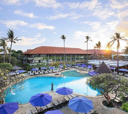 Pool at Bali Dynasty Resort