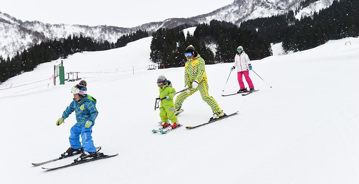 Ski school at Prince Hotels & Resorts