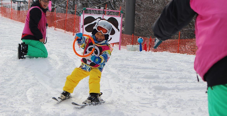 Ski school in Japan