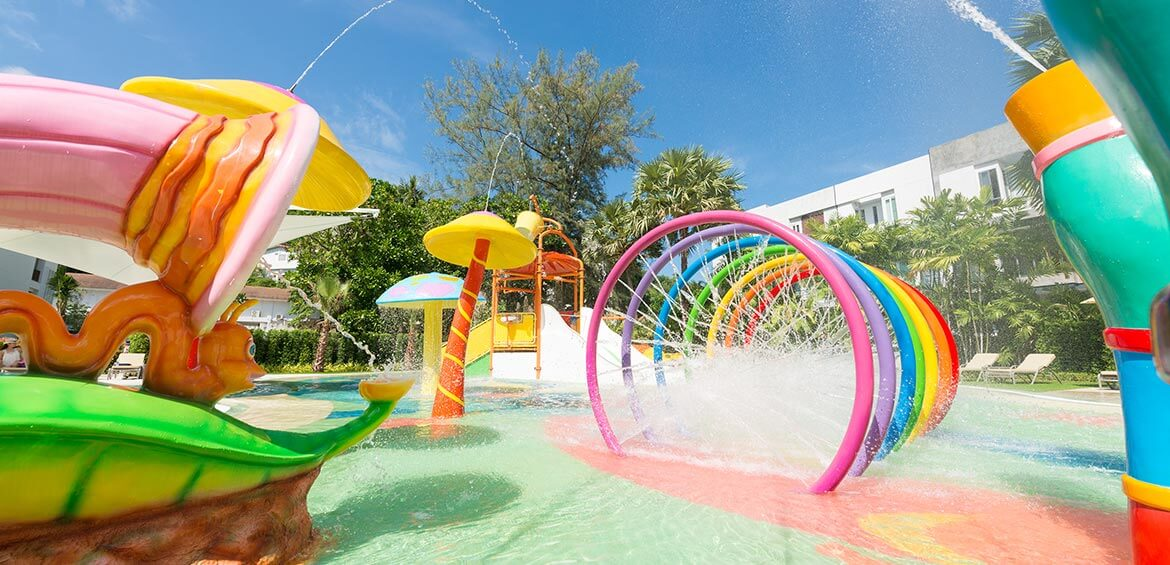 Aqua Play Zone at Katathani Phuket Beach Resort