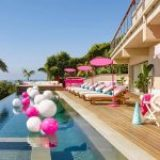 You could stay in Barbie's Malibu Dreamhouse