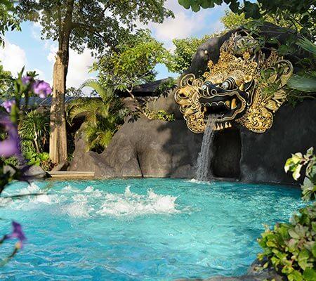 Barong Pool at Padma Resort Legian