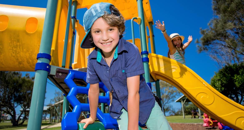 Kid-friendly fun at Corindi Beach Holiday Park