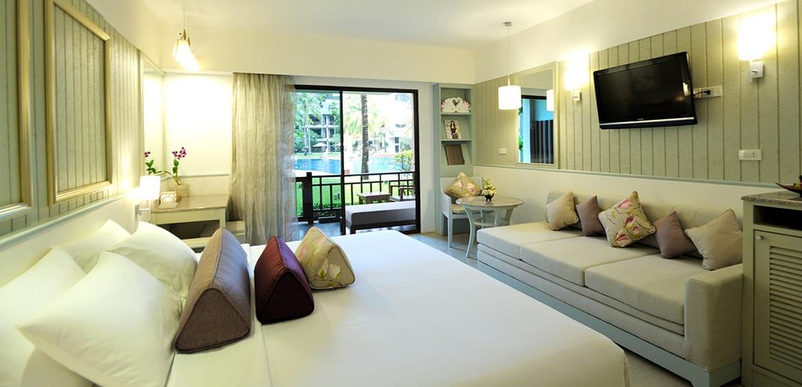 Deluxe Room at Katathani Phuket Beach Resort