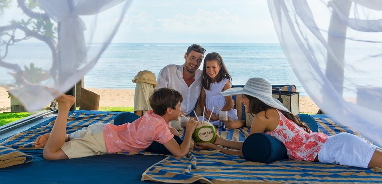 Family Cabana at Conrad Bali