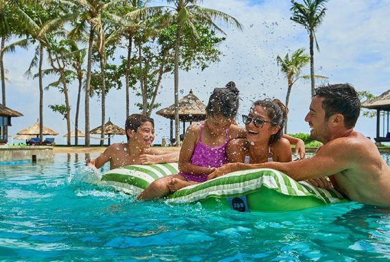Family fun at Conrad Bali