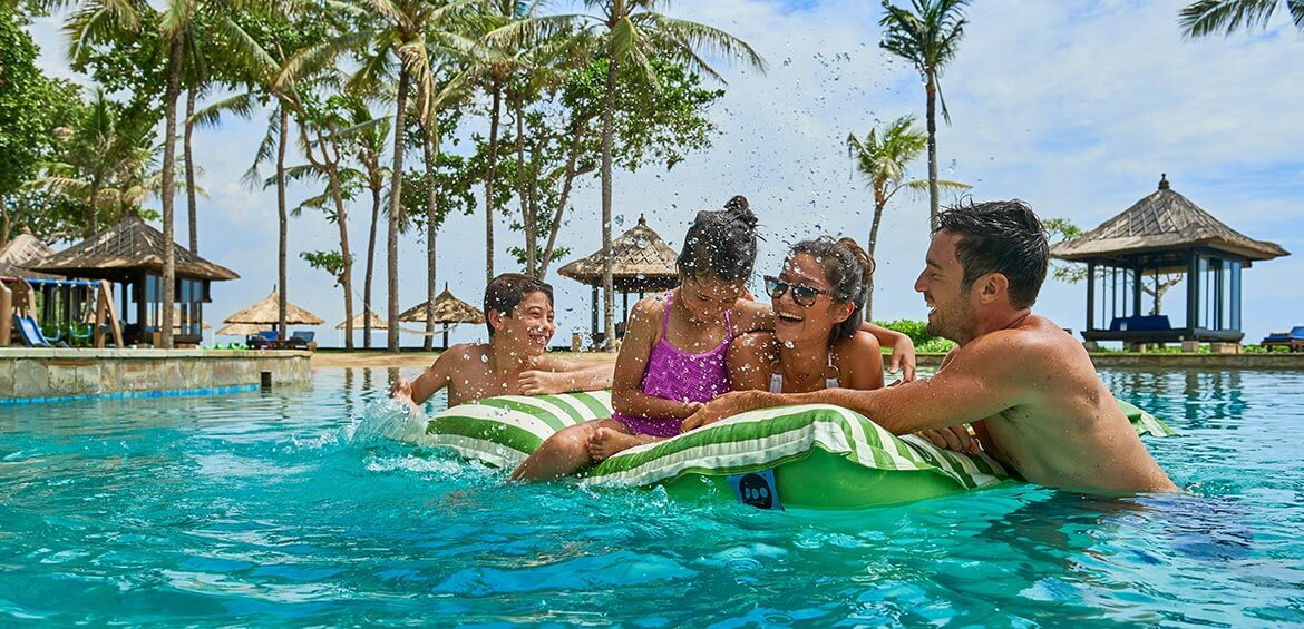 Family fun at Conrad Bali