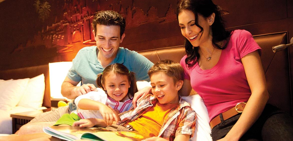 Family fun at Disneyland Hotel Anaheim