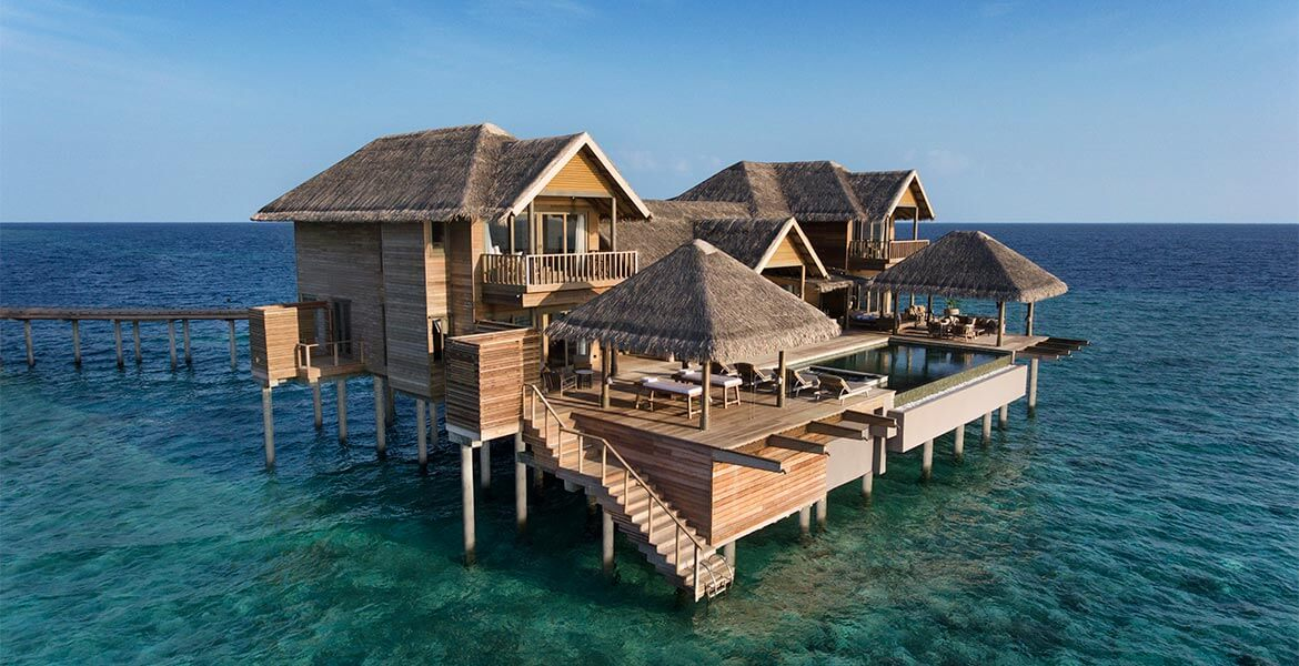 Four Bedroom Over Water Pool Residence at Vakkaru Maldives
