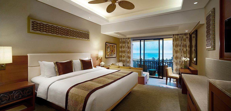 Garden Wing Executive Sea View at Shangri-La's Rasa Ria Resort