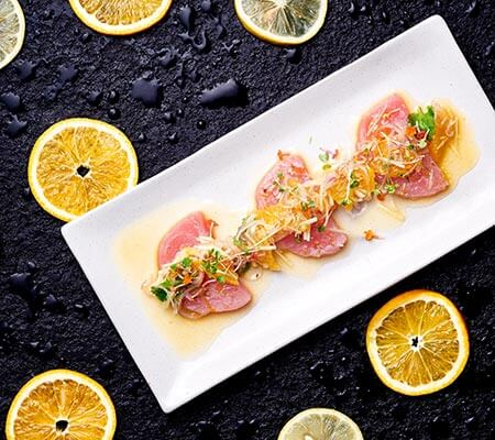 Henery's Grill & Bar Tuna Crudo