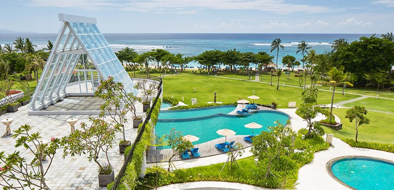 INAYA Putri Bali, Garden and Pool
