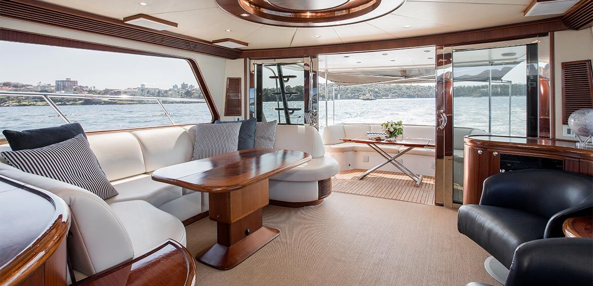 Interior of Enigma Charters
