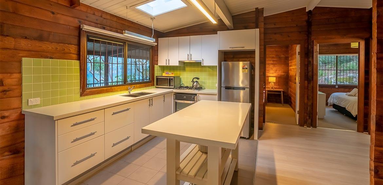 Kitchen of Weemalah Cottage