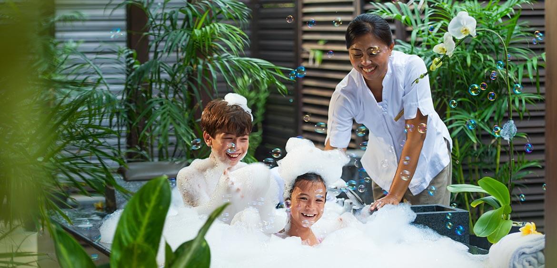 Nanny at Conrad Bali